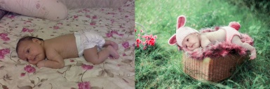 Child`s photo fairytale stylization