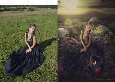 Artistic photo editing - a fairytale style