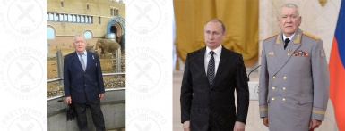 Photomontage with celebrities - as example, with mr. Putin