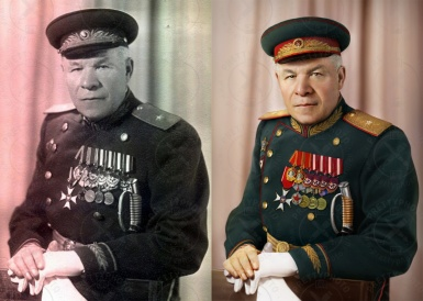 Old photo restoration, colorization, increasing of  definitiion